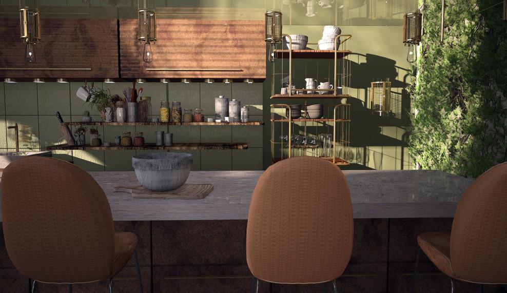 Kitchen counter/breakfast bar