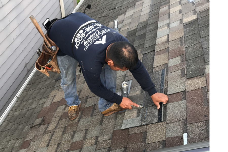 Remove & Replace Missing Shingles