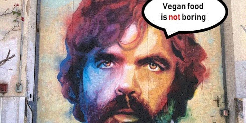 Vegan food is not boring