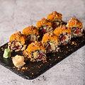 hip caroots sushi Roots & Rolls Vegan He