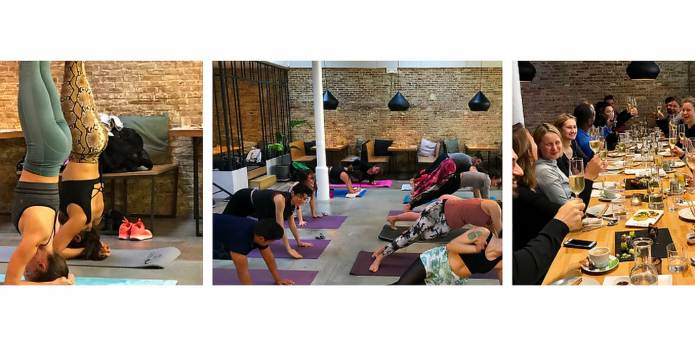 Yoga & Plant-based Sushi Brunch