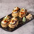 say cheese uramaki sushi Roots & Rolls V