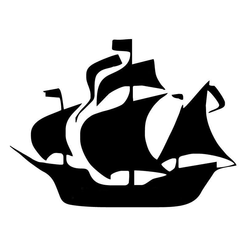 14cm-10-4cm-Pirate-Ship-Cartoon-Stickers