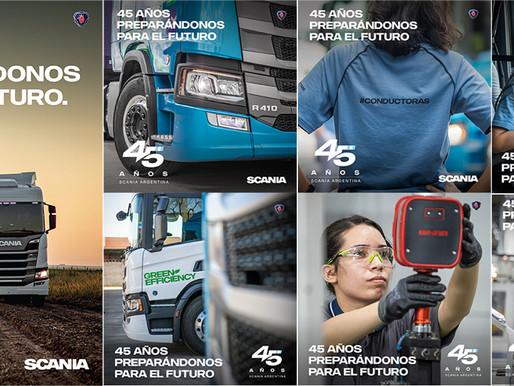 Grupo SC realizó la campaña por los 45 años de Scania Argentina