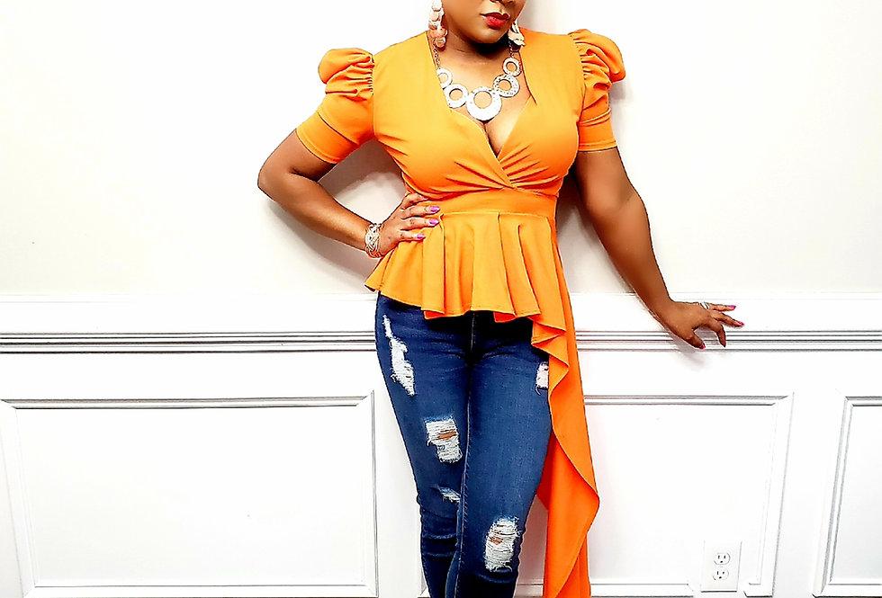 Orange Asymmetric Top