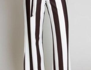 Black & White Striped Pants
