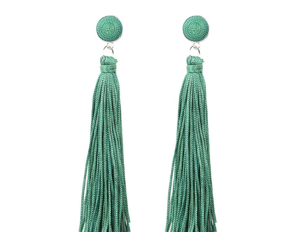 Tightrope Tassel - Green