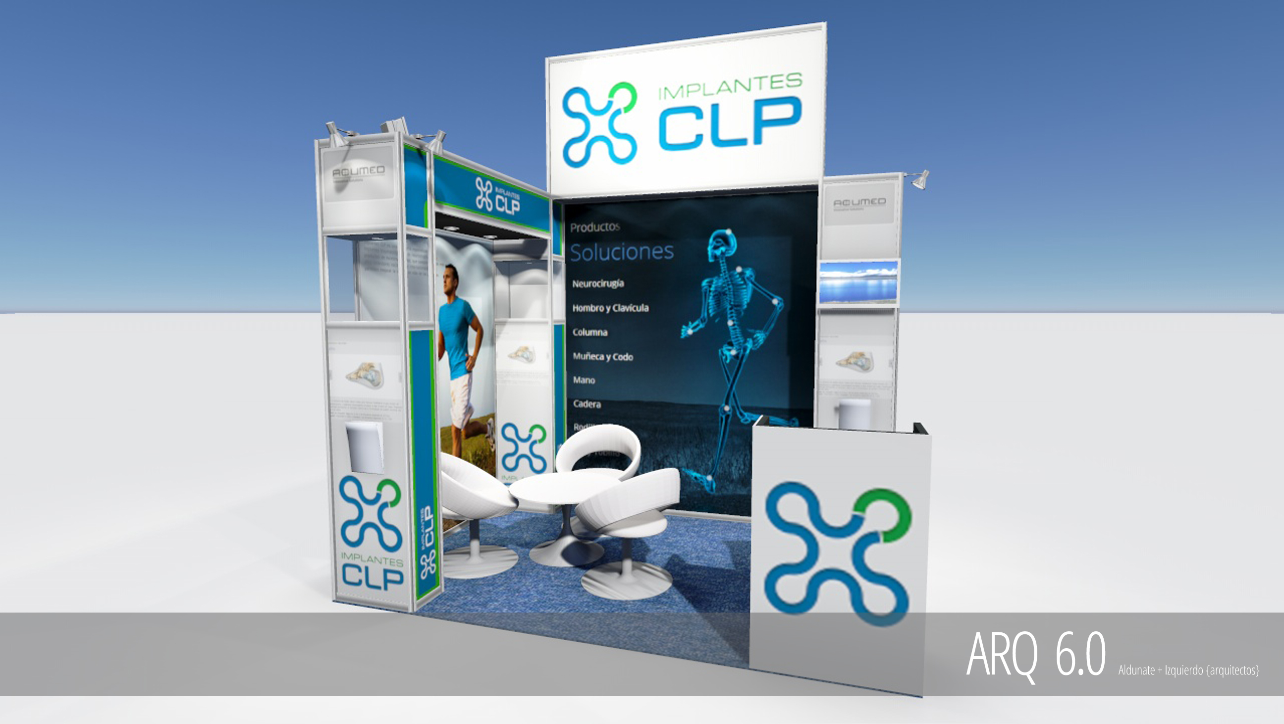 Stand CLP Implantes - Congreso SHOT