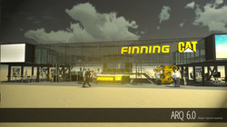 Stand Finning CAT - B - Exponor 2013