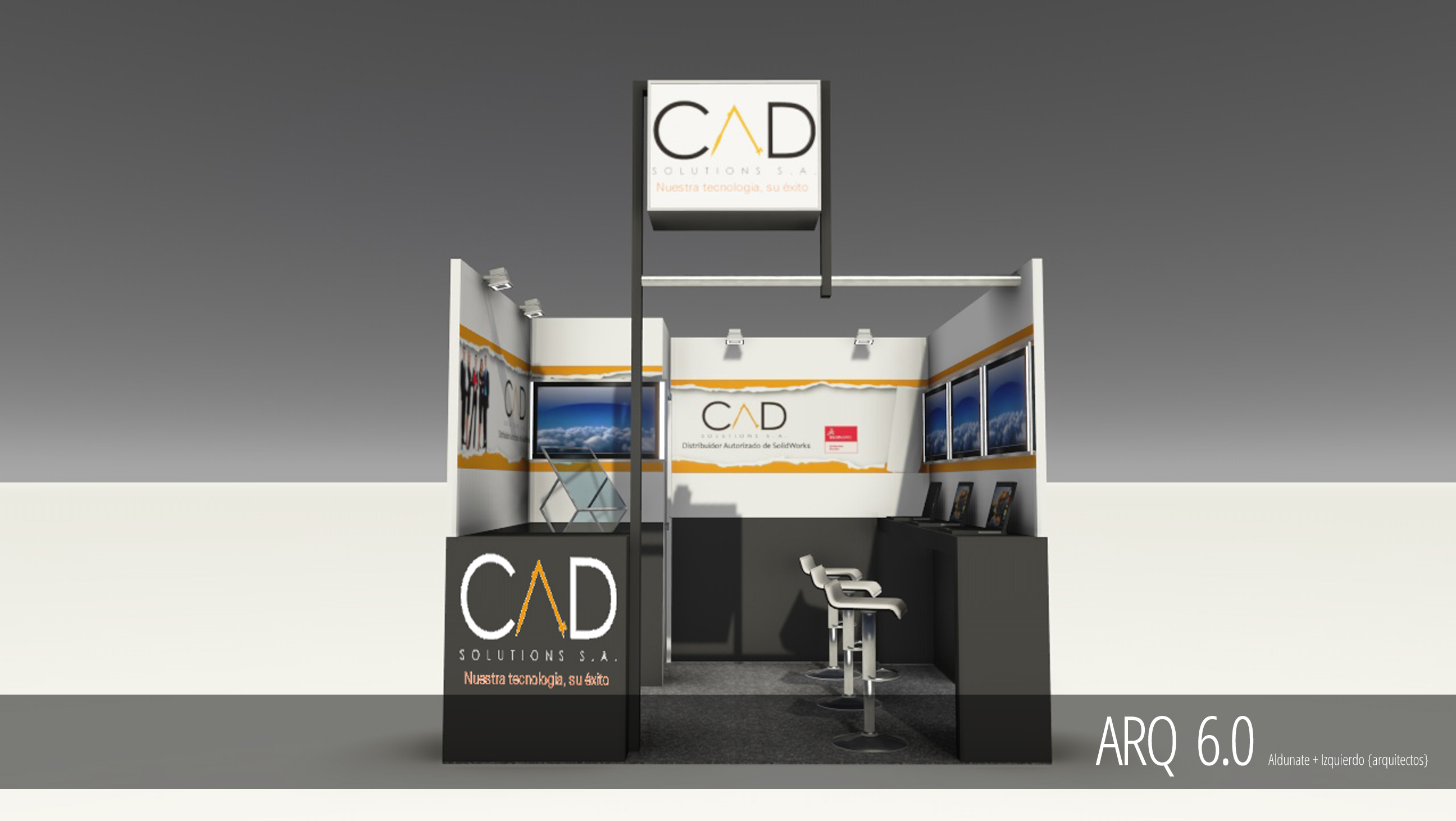 Stand CAD Solutions - Expomin 2013