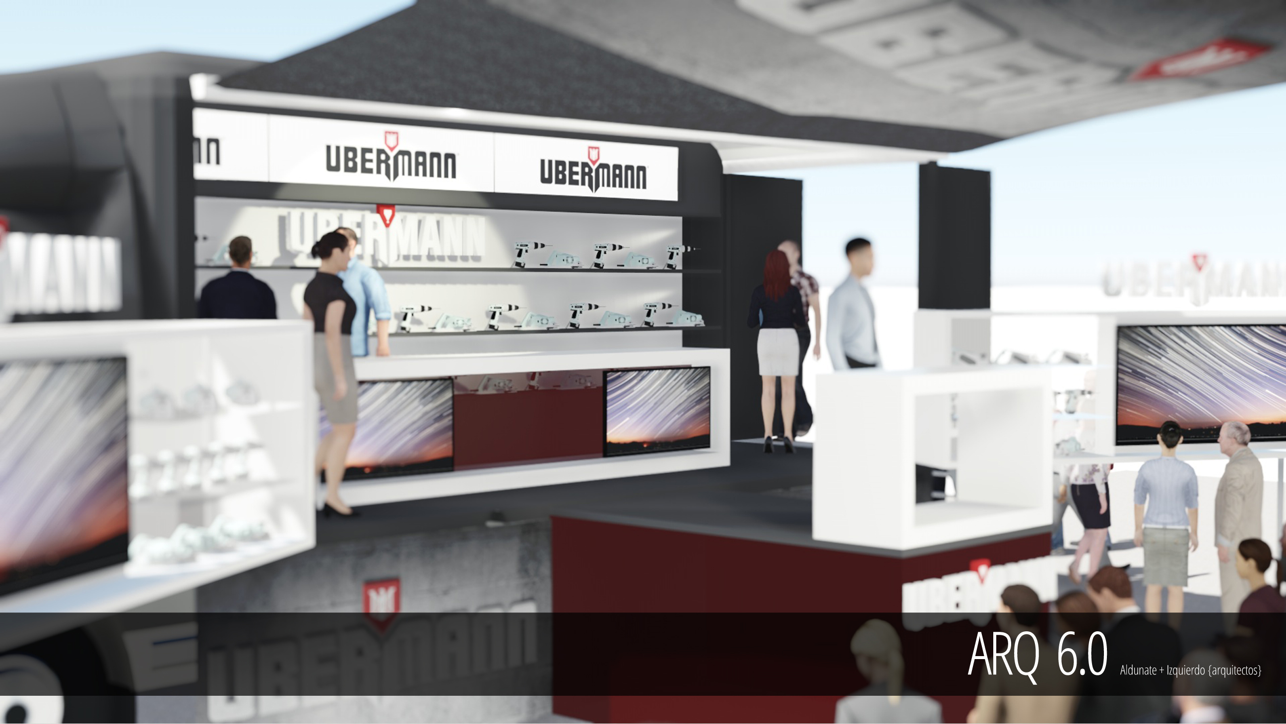 Showroom Movil - Ubermann-Sodimac