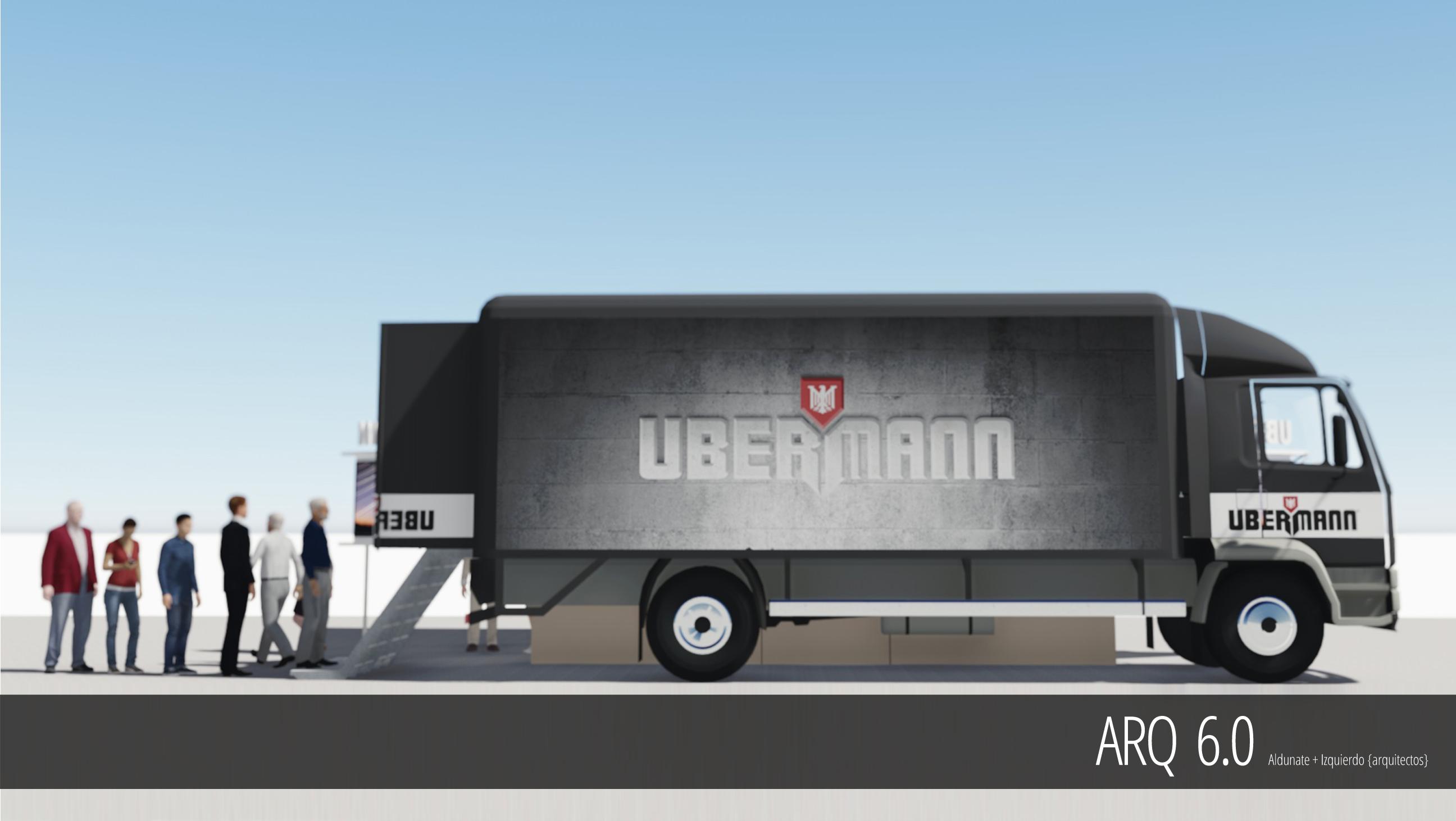 Showroom Movil - Ubermann-Sodimac