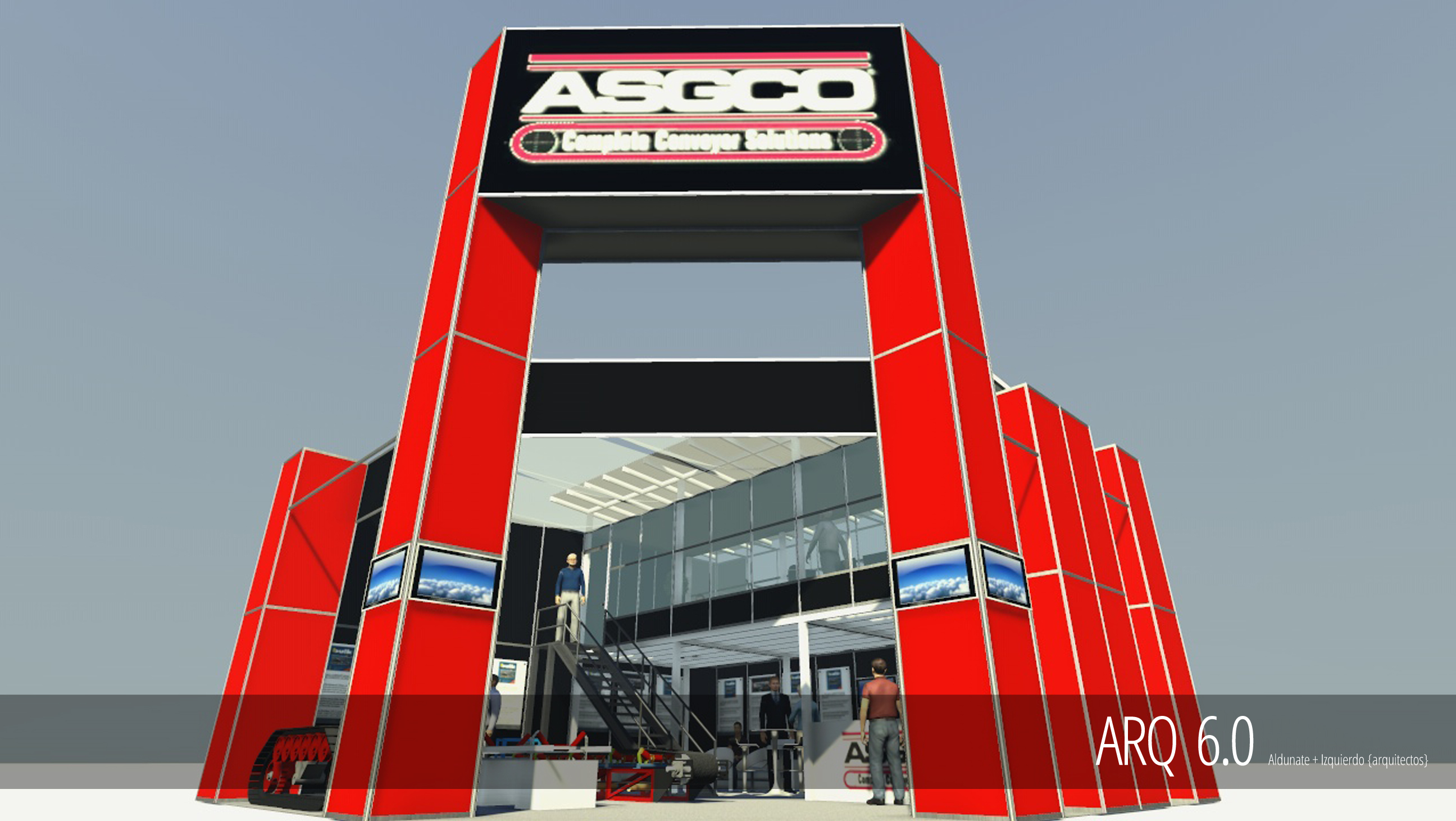 Stand Asgco - Expomin 2014