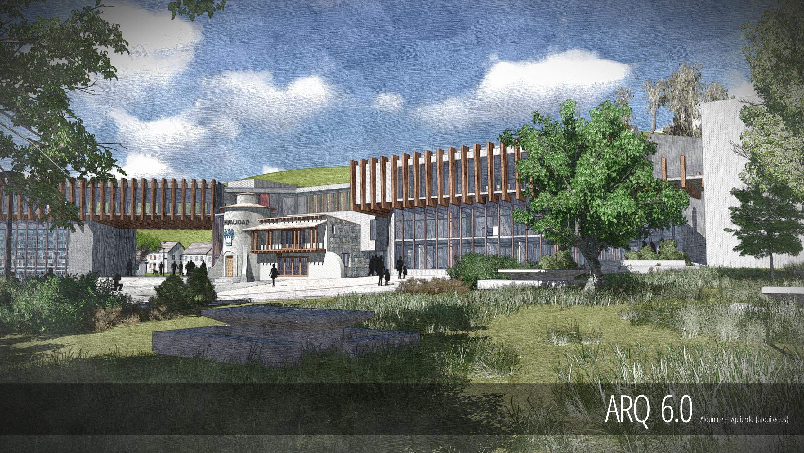 Edificio Cosistorial Papudo