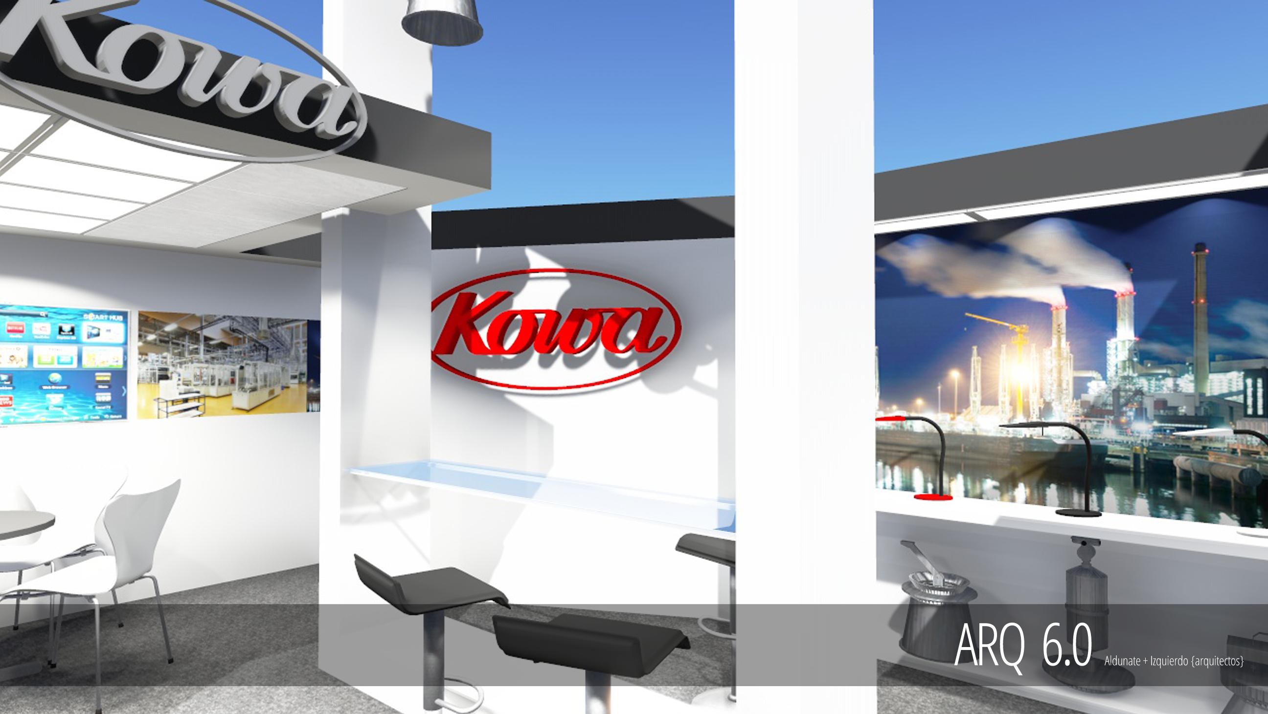 Stand Kowa - Expomin 2014