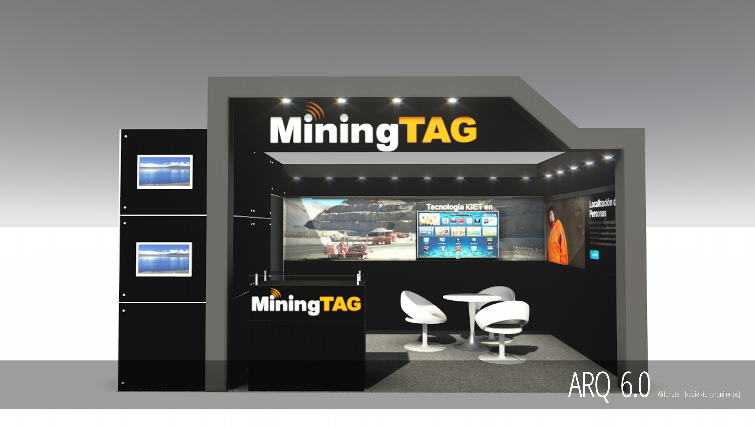 Stand MiningTAG - Expomin 2014