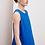 Thumbnail: Kowtow Eames Dress, workwear blue