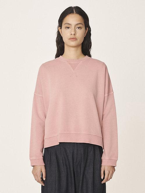 YMC, Almost Grown Cotton Loopback Sweatshirt, Pink