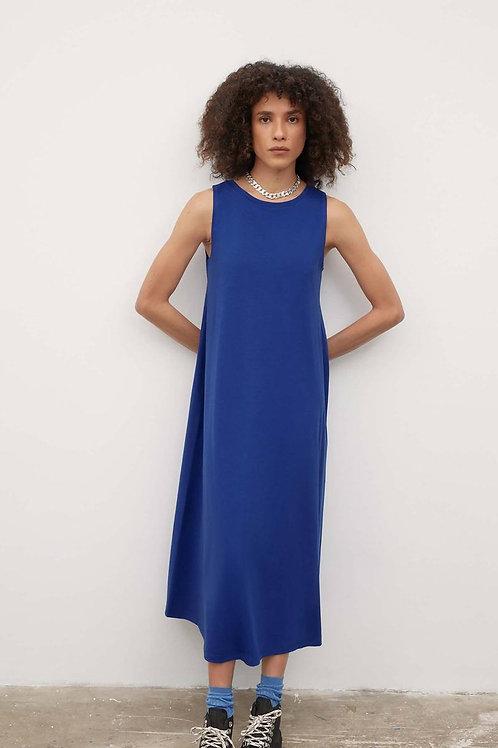 Kowtow, Tank Swing Dress, Bright Blue