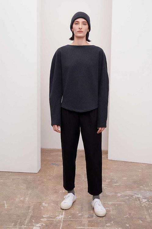 Kowtow Calder Sweater, charcoal