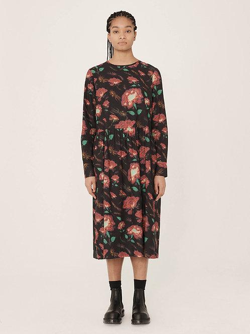 YMC Perhacs Cotton Rayon Floral Print Dress, multi