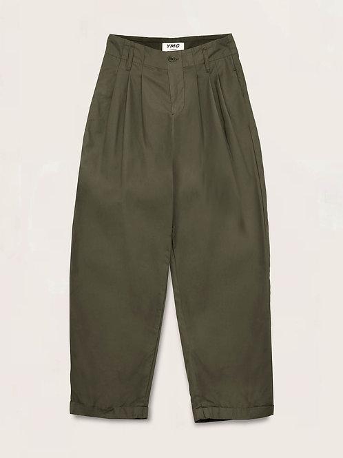 YMC, Keaton Cotton Nylon Trousers, Olive