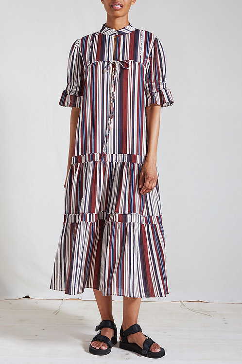 APIECE APART, Los Altos dress, Sienna Stripe