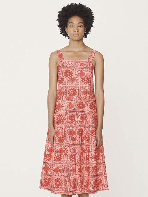 YMC, Starhawk Cotton Lawn Dress, Red