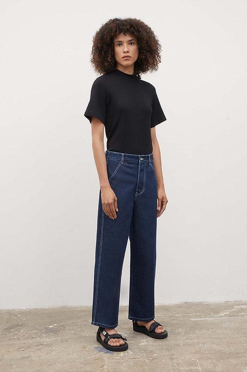 Kowtow, Barrel Jeans, Indigo denim