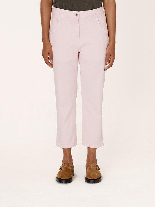 YMC, Genie Cotton Paisley Jacquard Jeans, Pink