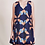 Thumbnail: Apiece Apart, Rosarito Mini Dress, Shibori geo floral