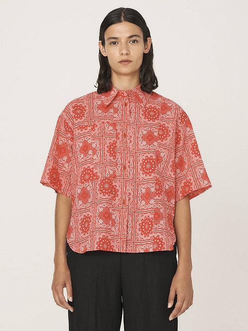 YMC, Eva Cotton Lawn Bandana Print Shirt