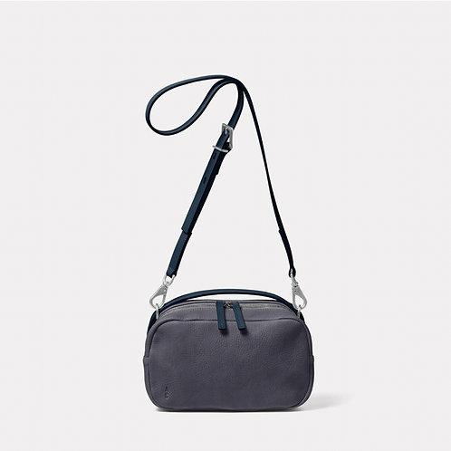 Ally Capellino Leila Medium Calvert Leather Crossbody Bag,  Dark Skies