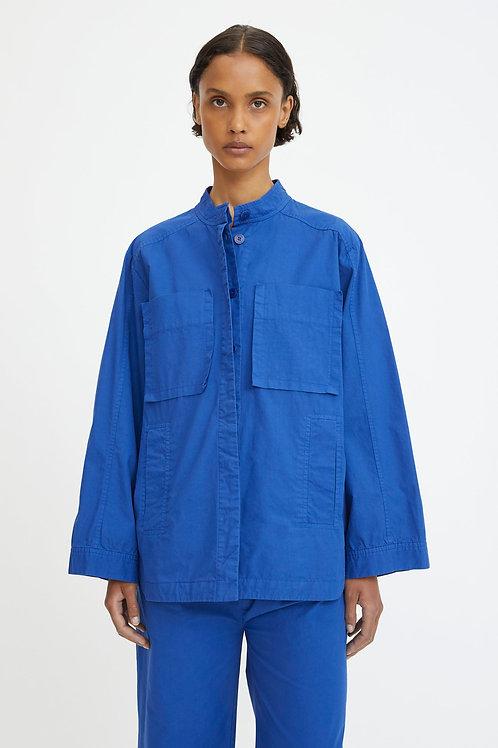 Rodebjer Maithe Shirt, workwear blue