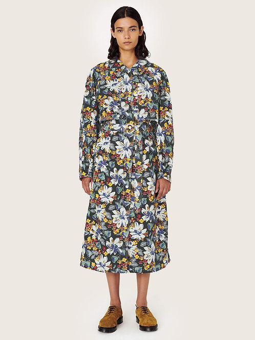YMC Siouxie Organic Cotton Floral Coat