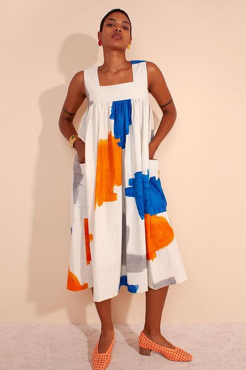 LF Markey, Cameron Dress, Brushstrokes