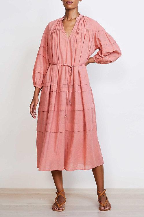 APIECE APART, Mario Pintuck Dress, Clay