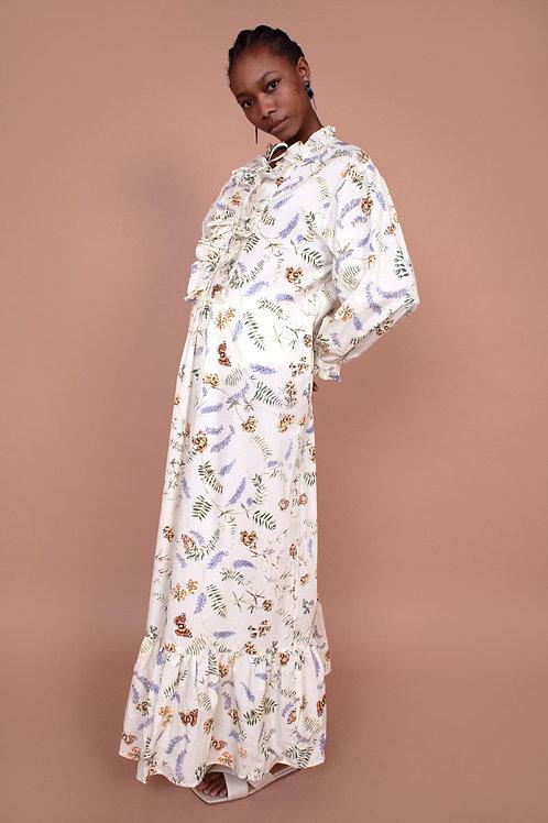 Meadows, Lavender Dress, Spring Haze