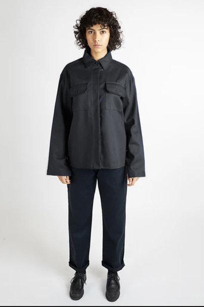 Kate Sheriden Crafter shirt, black