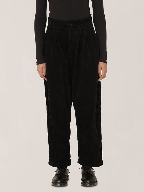 YMC Keato Jumbo Cord Trousers, black