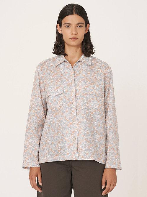 YMC, Vegas Cotton Seersucker Long Sleeved Shirt, Multi