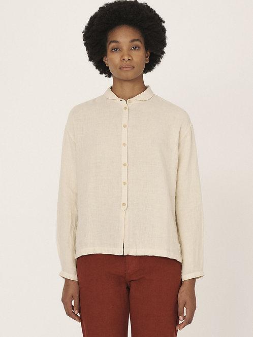 YMC, Marianne Linen Shirt, Ecru