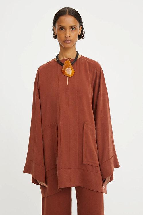 Rodebjer Maziel  Shirt, raw umbra