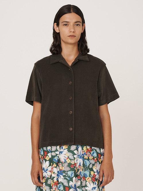 YMC, Vegas Cotton Towelling Shirt, Olive