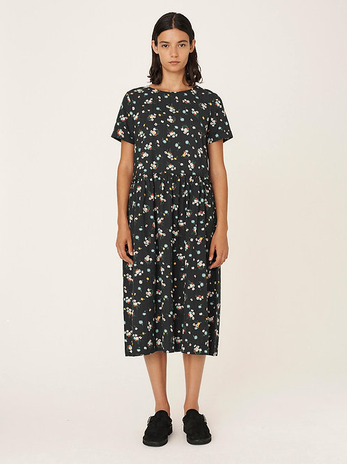 YMC, Perhacs Floral Cotton Seersucker Dresss