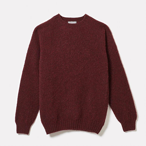 Ally Capellino Oversized Lambswool Jumper,  Mulberry