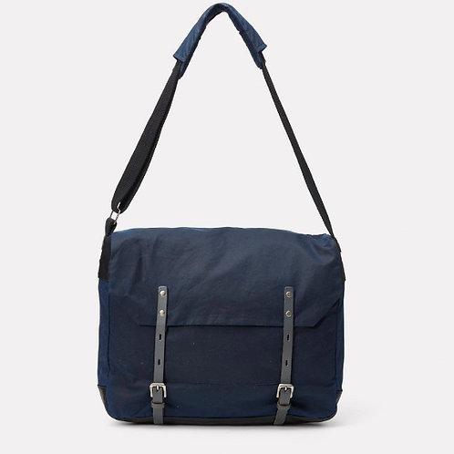Ally Capellino Jeremy Messenger Bag, navy/grey