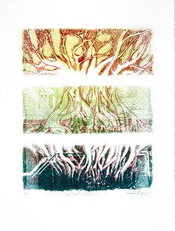 """Yggdrasil"" - Lithograph"