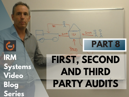 The difference between first party audits, second party audits and third party audits explained.