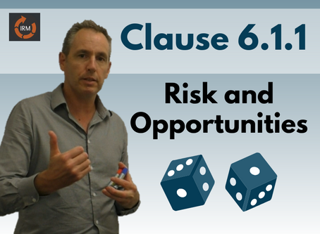 How to take action on risks and opportunities (Clause 6.1.1)